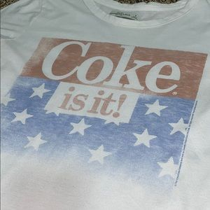 Coke USA shirt